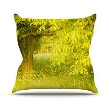 Summer by Iris Lehnhardt Trees Throw Pillow