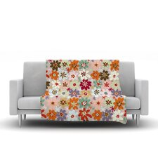 Sophie by Laura Escalante Fleece Throw Blanket
