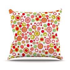 Bubbles by Louise Machado Warm Throw Pillow