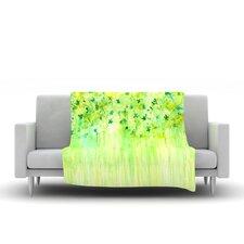 April Showers by Rosie Brown Fleece Throw Blanket