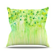April Showers by Rosie Brown Throw Pillow
