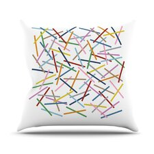 Sprinkles by Project M Throw Pillow