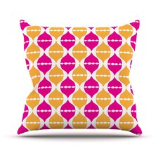 Moroccan Dreams by Apple Kaur Designs Throw Pillow