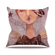 Prudence by Suzanne Carter Portrait Throw Pillow