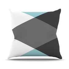 Diamonds by Suzanne Carter Throw Pillow