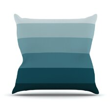 Cijan by Trebam Throw Pillow