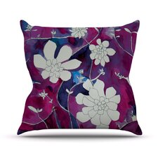 Succulent Dance III Throw Pillow