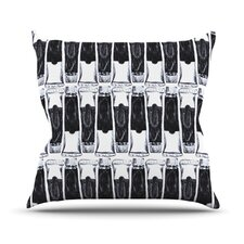 Paint Tubes by Theresa Giolzetti Throw Pillow