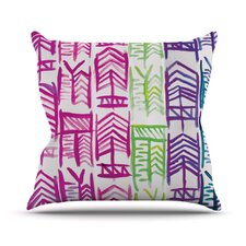 Quiver III by Theresa Giolzetti Throw Pillow