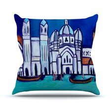 Venice by Theresa Giolzetti Throw Pillow