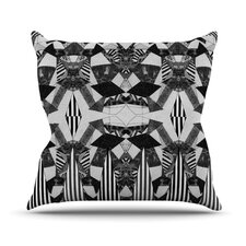 Tessellation by Vasare Nar Throw Pillow