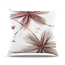 Flower by Alison Coxon Throw Pillow