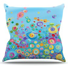 Inner Circle by Catherine Holcombe Throw Pillow