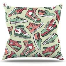 Sneaker Lover II Throw Pillow