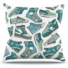 Sneaker Lover III Throw Pillow