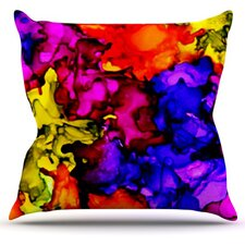 Chica by Claire Day Throw Pillow