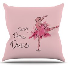 Ballerina by Brienne Jepkema Throw Pillow