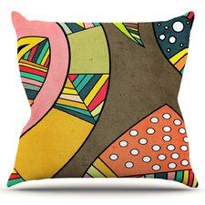 Cosmic Aztec by Danny Ivan Throw Pillow