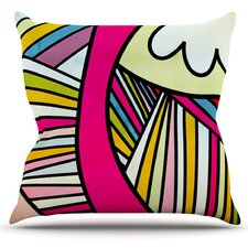 Fake Colors by Danny Ivan ThrowPillow