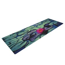 Twilight by Ann Barnes Water Lily Yoga Mat