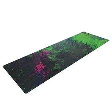 Acid Rain by Claire Day Yoga Mat