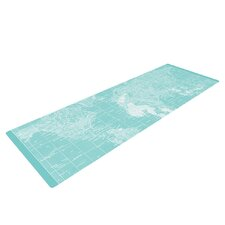 Welcome to my World by Catherine Holcombe Yoga Mat