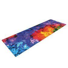 Karma by Claire Day Rainbow Paint Yoga Mat