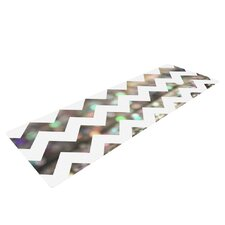 After Party Chevron by Beth Engel Yoga Mat