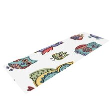 Owls by Brienne Jepkema Yoga Mat