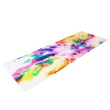Technicolor Clouds by Caleb Troy Yoga Mat