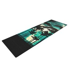 Palm Trees and Stars by Caleb Troy Yoga Mat