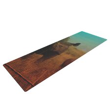 Abstract Rhino by Danny Ivan Yoga Mat
