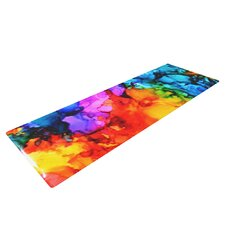 Sweet Sour II by Claire Day Yoga Mat