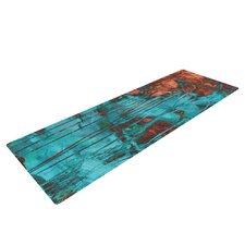 Rusty Teal by Iris Lehnhardt Yoga Mat