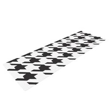 Spacey Houndstooth by Empire Ruhl Yoga Mat