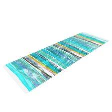 Fancy Stripes by Frederic Levy-Hadida Yoga Mat