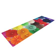 Adored by Heidi Jennings Colored Circles Yoga Mat