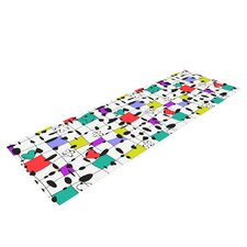My Happy Squares by Julia Grifol Yoga Mat