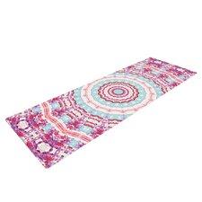 Happy by Iris Lehnhardt Circle Yoga Mat