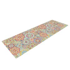 My Happy Flowers by Julia Grifol Yoga Mat