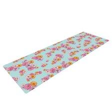 Paper Flower by Laura Escalante Yoga Mat