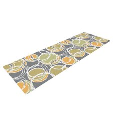 Simple Circles by Julia Grifol Yoga Mat
