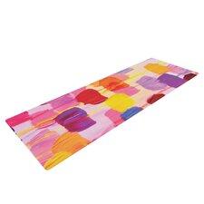 Dotty in Pink by Ebi Emporium Yoga Mat