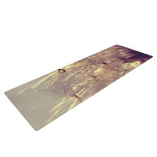 Sparkles of Gold by Ingrid Beddoes Yoga Mat