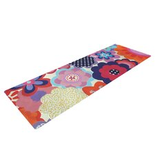 Patchwork Flowers by Louise Machado Yoga Mat