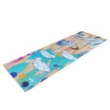 Origami Strings by Kira Crees Yoga Mat