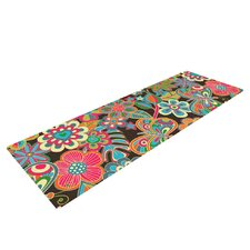 My Butterflies and Flowers by Julia Grifol Yoga Mat