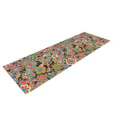 My Butterflies and Flowers by Julia Grifol Rainbow Floral Yoga Mat