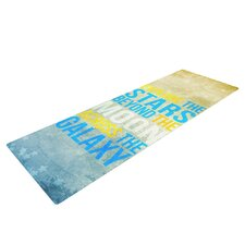 Explore the stars by Nick Atkinson Yoga Mat