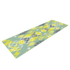 Joyful Teal by Miranda Mol Yoga Mat